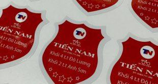 In tem nhãn decal nhựa đẹp giá rẻ tại Hà Nội